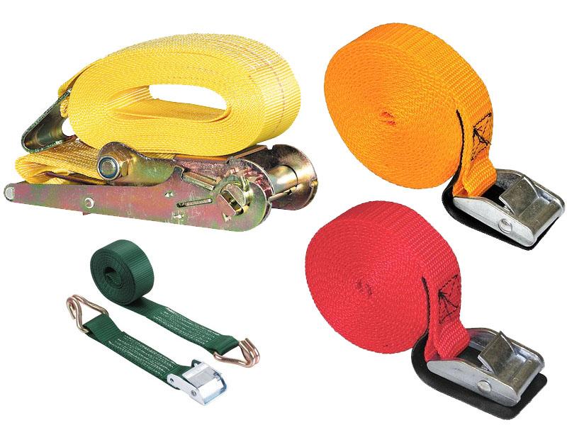 Assorted cargo straps